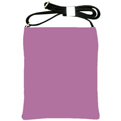 Silly Purple Shoulder Sling Bags