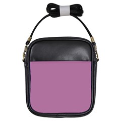 Silly Purple Girls Sling Bags