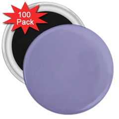 Grey Violet 3  Magnets (100 Pack)