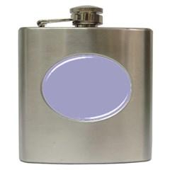 Grey Violet Hip Flask (6 Oz)