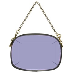 Grey Violet Chain Purses (two Sides)