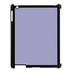 Grey Violet Apple Ipad 3/4 Case (black)