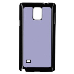 Grey Violet Samsung Galaxy Note 4 Case (black)