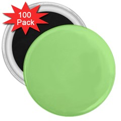 Meadow Green 3  Magnets (100 Pack)