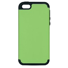 Meadow Green Apple Iphone 5 Hardshell Case (pc+silicone)