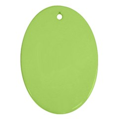 Minty Ornament (oval)