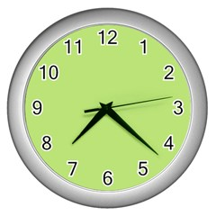 Minty Wall Clocks (silver)