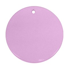 Soft Pink Ornament (round)