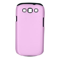 Soft Pink Samsung Galaxy S Iii Classic Hardshell Case (pc+silicone)