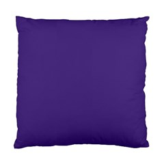 Dark Grape Purple Standard Cushion Case (one Side)