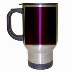 Grape Purple Travel Mug (silver Gray)