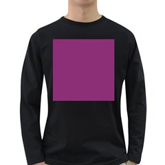 Grape Purple Long Sleeve Dark T Shirts