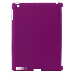 Grape Purple Apple Ipad 3/4 Hardshell Case (compatible With Smart Cover)