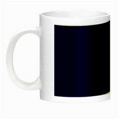 Dark Navy Night Luminous Mugs