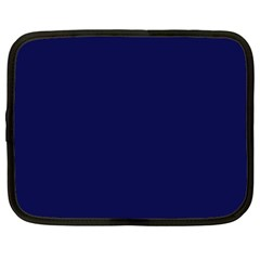 Dark Navy Netbook Case (xxl)