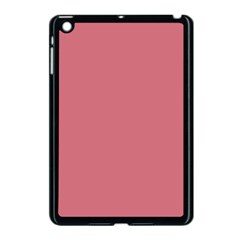 Pink Mauve Apple Ipad Mini Case (black)