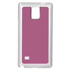 Rose Grey Samsung Galaxy Note 4 Case (white)