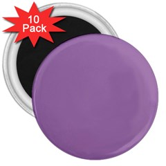 Grey Lily 3  Magnets (10 Pack)