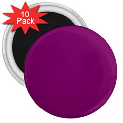 Grape Juice 3  Magnets (10 Pack)