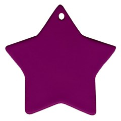 Grape Juice Star Ornament (two Sides)