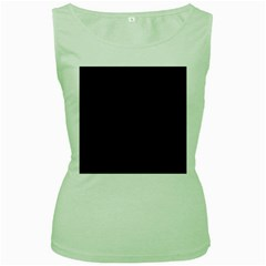 Quoth The Raven Women s Green Tank Top