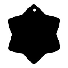 Quoth The Raven Snowflake Ornament (two Sides)