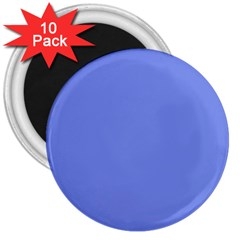 Lake Blue 3  Magnets (10 Pack)