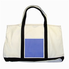 Lake Blue Two Tone Tote Bag