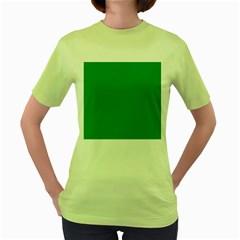 Teal Ocean Women s Green T Shirt