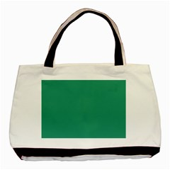 Teal Ocean Basic Tote Bag