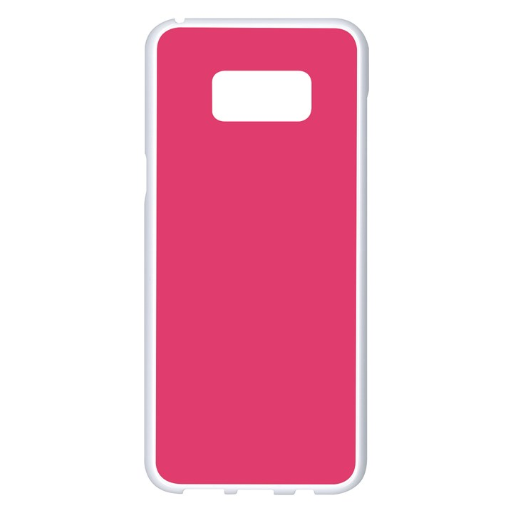 Rosey Day Samsung Galaxy S8 Plus White Seamless Case