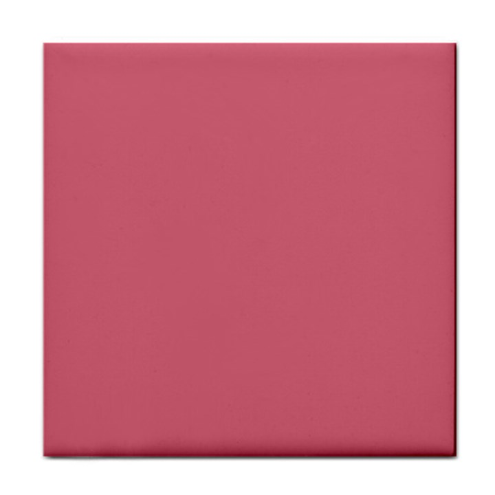 Rosey Tile Coasters
