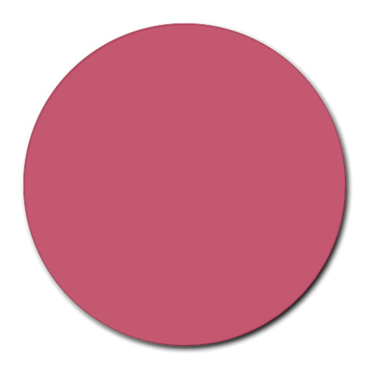 Rosey Round Mousepads