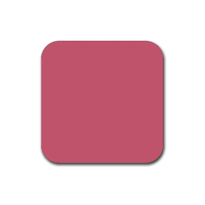 Rosey Rubber Coaster (Square)