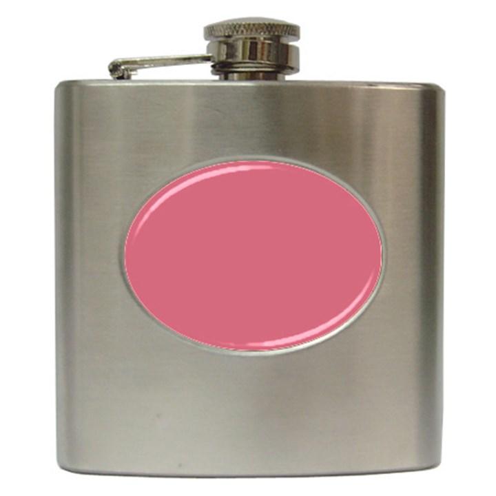 Rosey Hip Flask (6 oz)