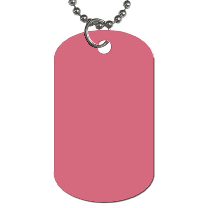 Rosey Dog Tag (Two Sides)