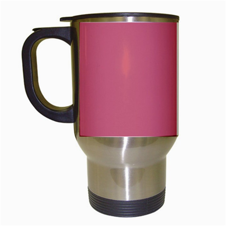 Rosey Travel Mugs (White)