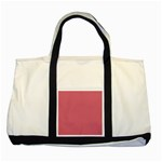 Rosey Two Tone Tote Bag Front