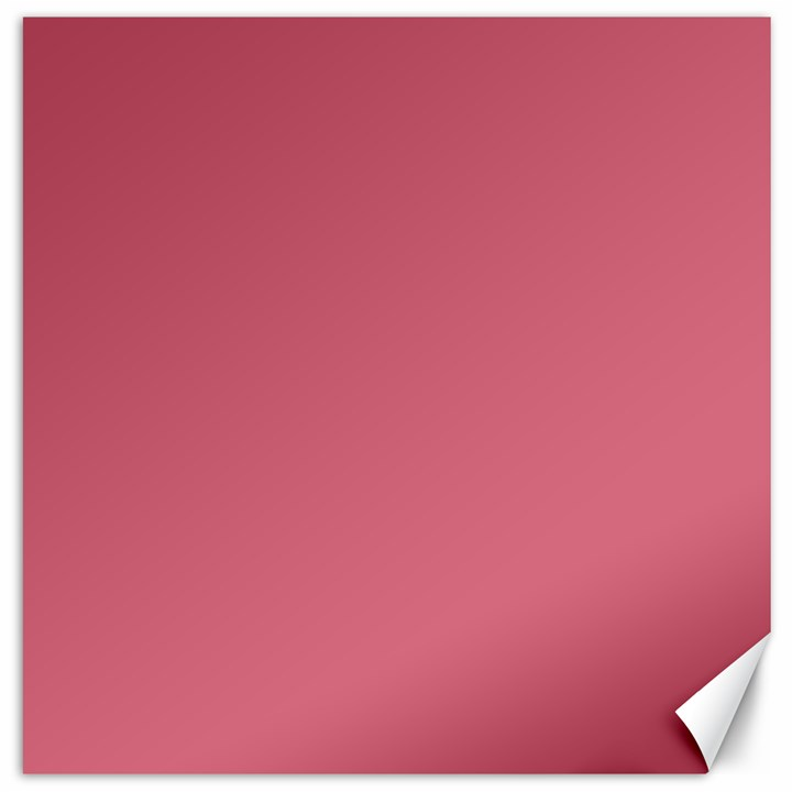 Rosey Canvas 16  x 16