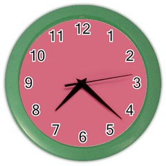 Rosey Color Wall Clocks