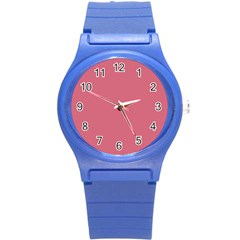 Rosey Round Plastic Sport Watch (s)