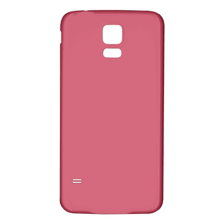 Rosey Samsung Galaxy S5 Back Case (White)