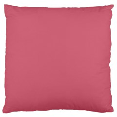 Rosey Large Flano Cushion Case (two Sides)
