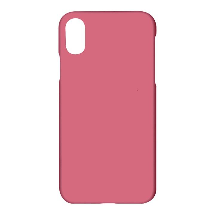 Rosey Apple iPhone X Hardshell Case