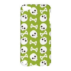 Skull Bone Mask Face White Green Apple Ipod Touch 5 Hardshell Case