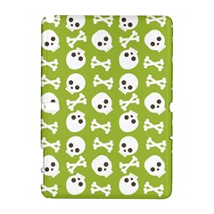 Skull Bone Mask Face White Green Galaxy Note 1