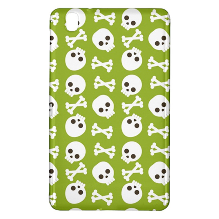 Skull Bone Mask Face White Green Samsung Galaxy Tab Pro 8.4 Hardshell Case
