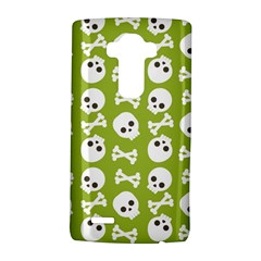 Skull Bone Mask Face White Green Lg G4 Hardshell Case