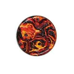 Lava Active Volcano Nature Hat Clip Ball Marker