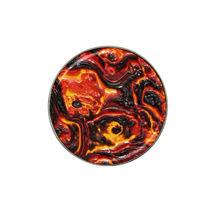 Lava Active Volcano Nature Hat Clip Ball Marker (4 pack)
